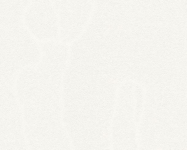 Vliestapete Einfarbig weiß 3250-13