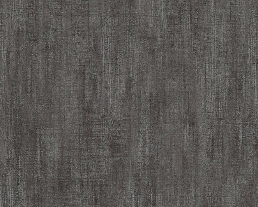 vliestapete struktur uni as creation anthrazit 32711 7. Black Bedroom Furniture Sets. Home Design Ideas