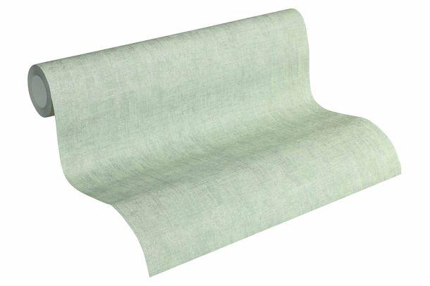 Tapete Vlies Einfarbig mintgrün silber metallic 32261-9 online kaufen