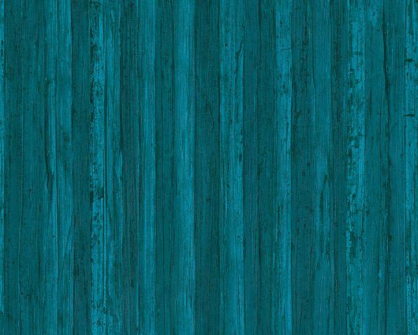 Tapete Vlies Holzoptik Holz AS Creation blau 32714-5