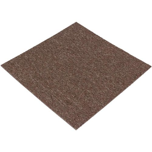 Carpet Tile Heavy Duty brown Diva 50x50 cm online kaufen