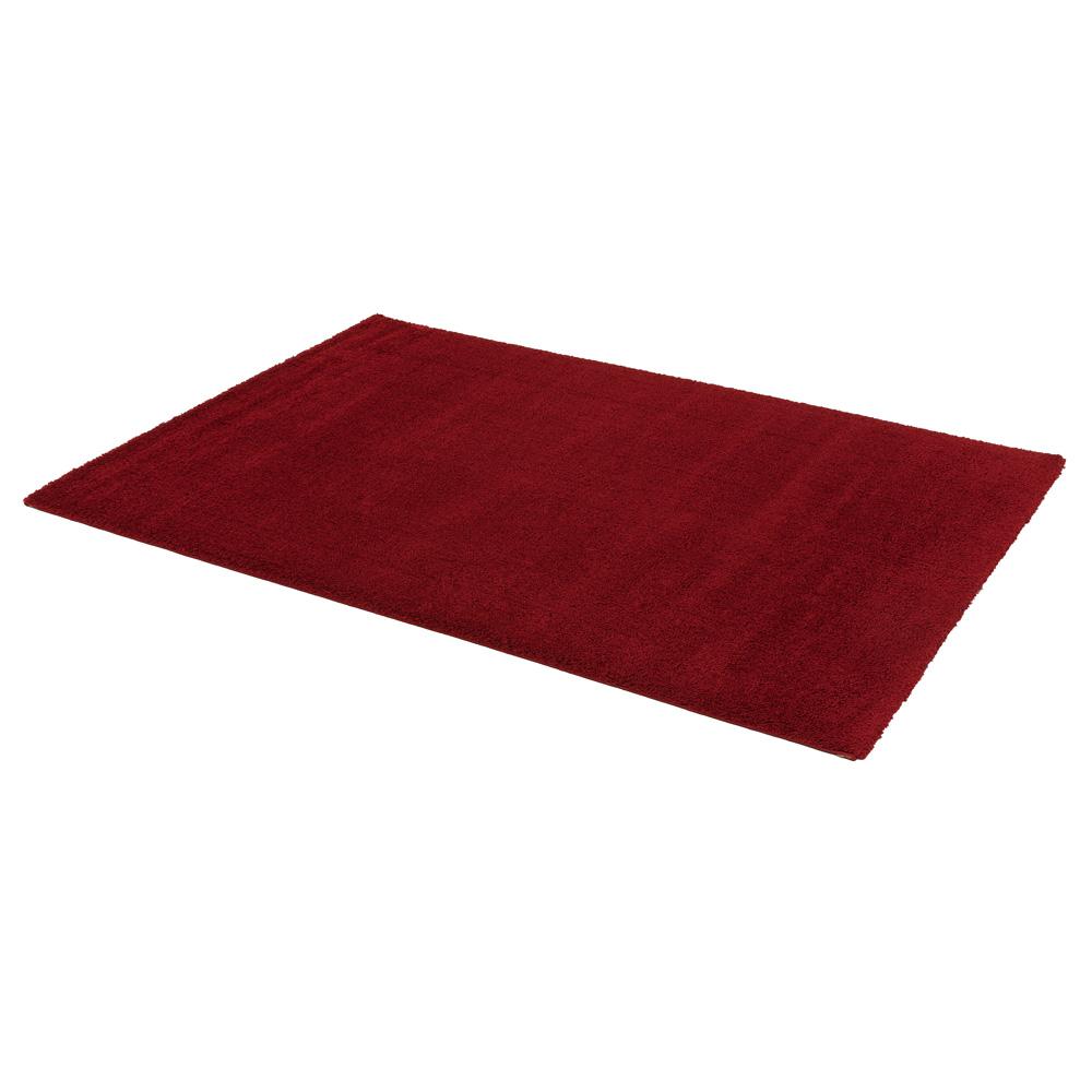 teppich hochflor astra rivoli webteppich einfarbig rot. Black Bedroom Furniture Sets. Home Design Ideas