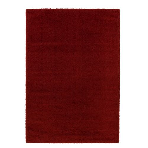 Carpet Rug Shaggy Soft Astra Rivoli Red Plain Design online kaufen