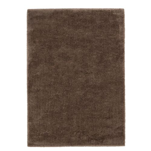 Carpet Rug Shaggy Soft Astra Rivoli Brown Plain Design online kaufen
