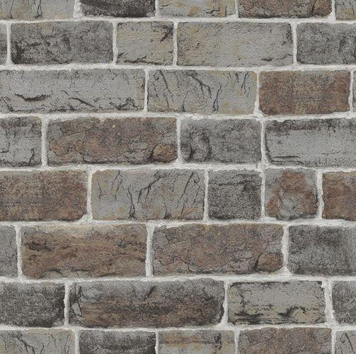 Tapete Papier Stein Wand Rasch grau 217339 online kaufen