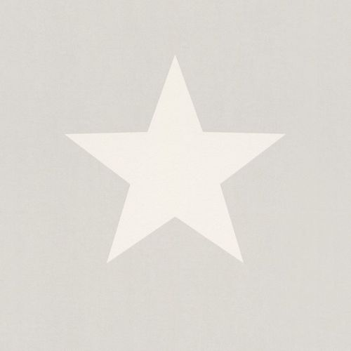Kids Wallpaper star grey white Rasch Kids & Teens 248128 online kaufen