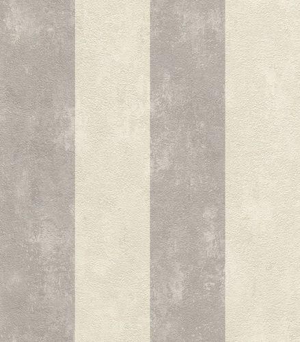 Tapete Gestreift Streifen Rasch Lucera grau creme 608960 online kaufen