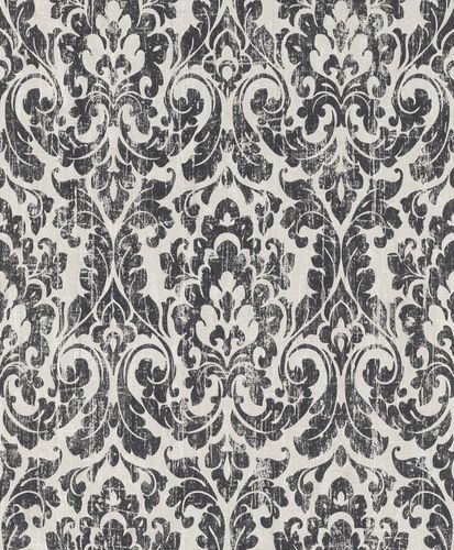 Wallpaper vintage baroque cream beige black Rasch 516258 online kaufen