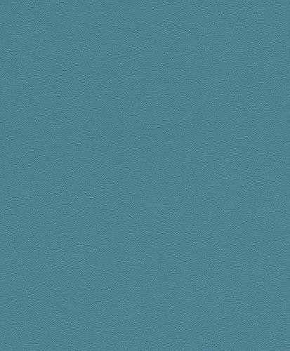 Vliestapete Rasch Einfarbig Struktur petrol 469103 online kaufen