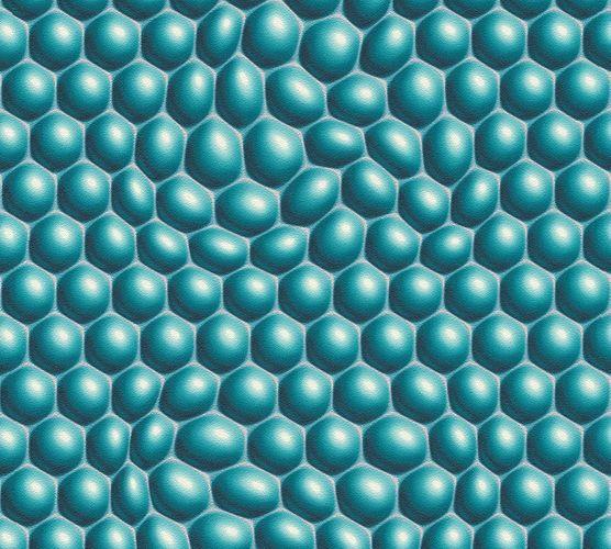 Mac Stopa Wallpaper 3D bowl graphics blue Gloss 32720-4 online kaufen