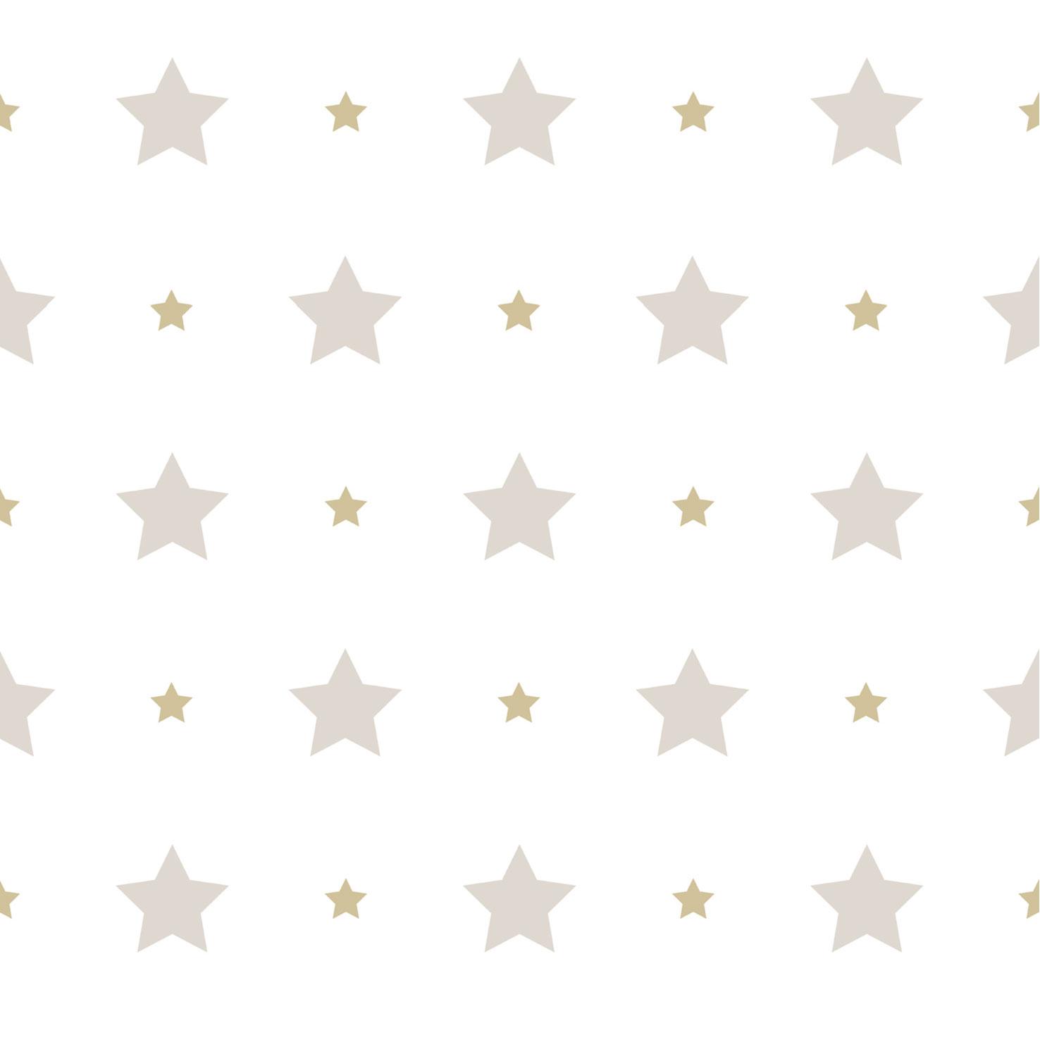 Tapete kinderzimmer sterne  Tapete Kinder Sterne Stern Rasch Textil weiß beige 330143