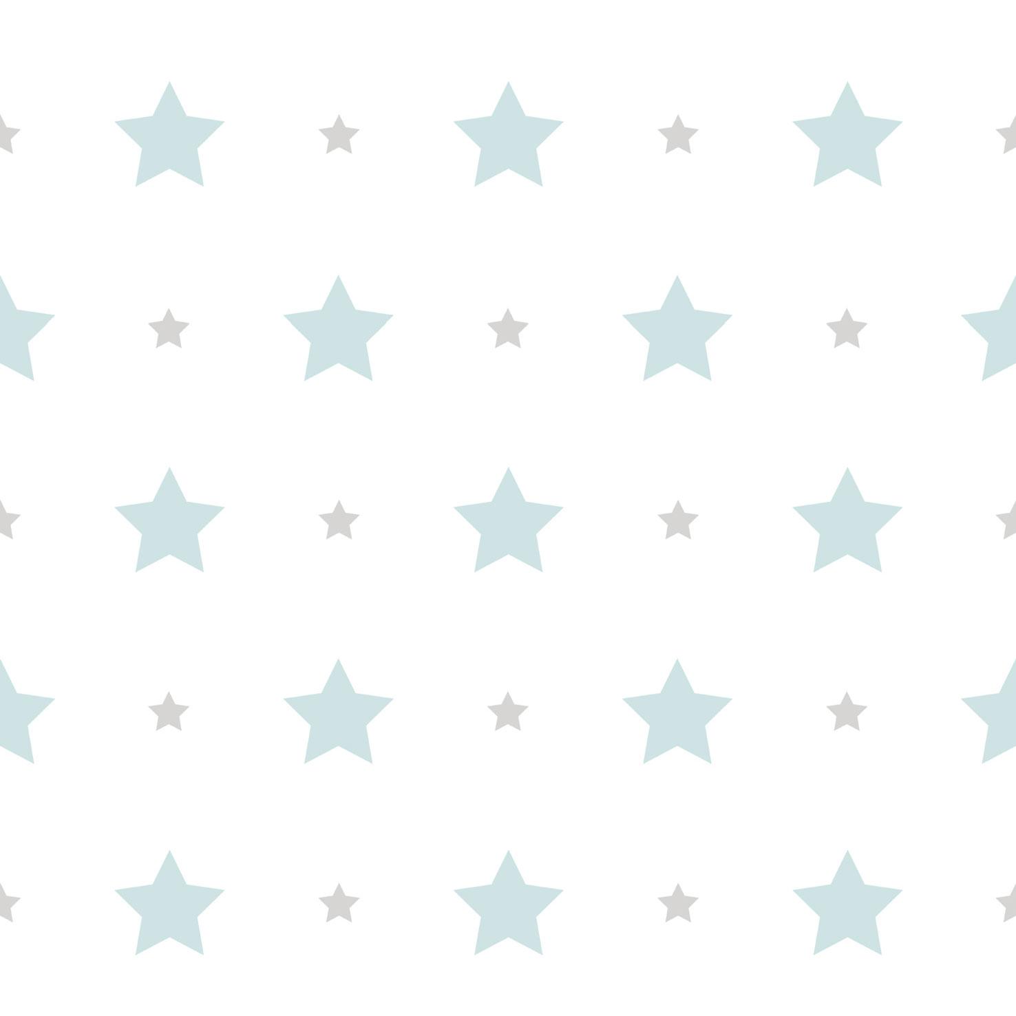 tapete kinder sterne stern rasch textil wei blau 330150. Black Bedroom Furniture Sets. Home Design Ideas