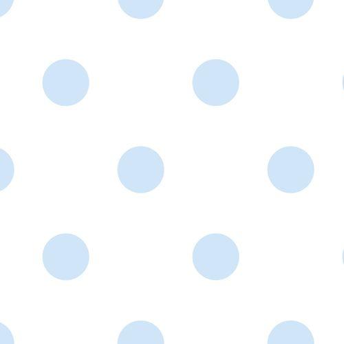 Wallpaper Kids circles World Wide Walls white blue 330174