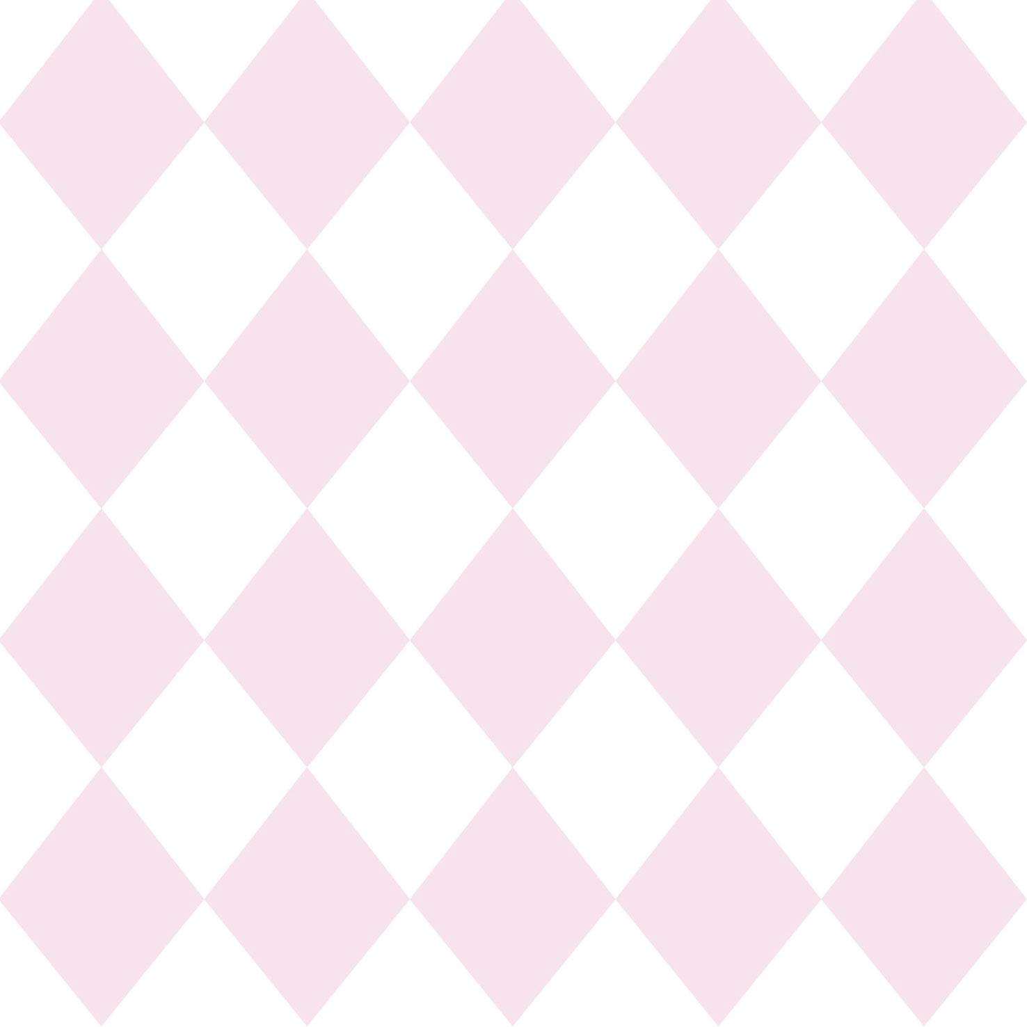 Wallpaper Kids Diamond Rasch Textil Pink White 330211 001