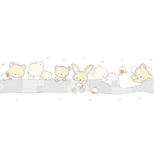 Wallpaper Border kids animal World Wide Walls beige 330396 online kaufen