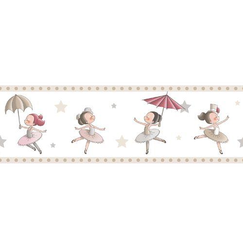 Tapetenborte Bordüre Ballerina Rasch Textil beige 330457 online kaufen
