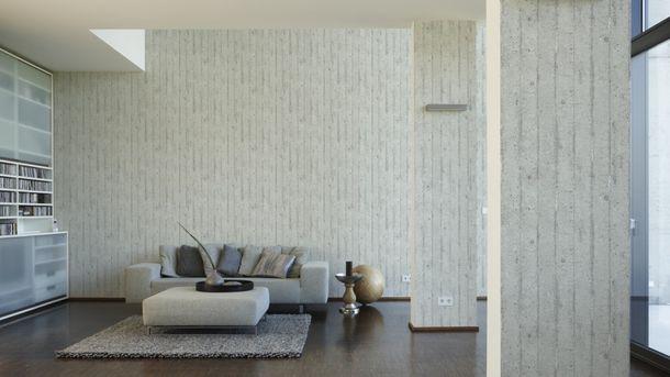 Wallpaper stone tiles design white AS Creation 7137-11 online kaufen