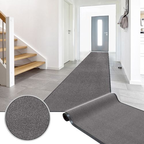 Heavy Duty Dirt Rug Runner Classic Clean Brown 90cm online kaufen