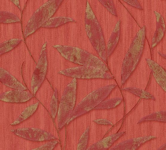 Wallpaper leaves nature red AS Creation 32880-2 online kaufen