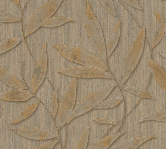 Wallpaper leaves nature taupe AS Creation 32880-5 online kaufen