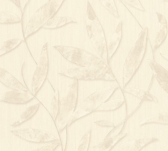 Wallpaper leaves nature cream AS Creation 32880-7 online kaufen