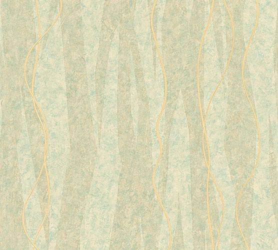 Wallpaper graphic lines green AS Creation 32999-4 online kaufen