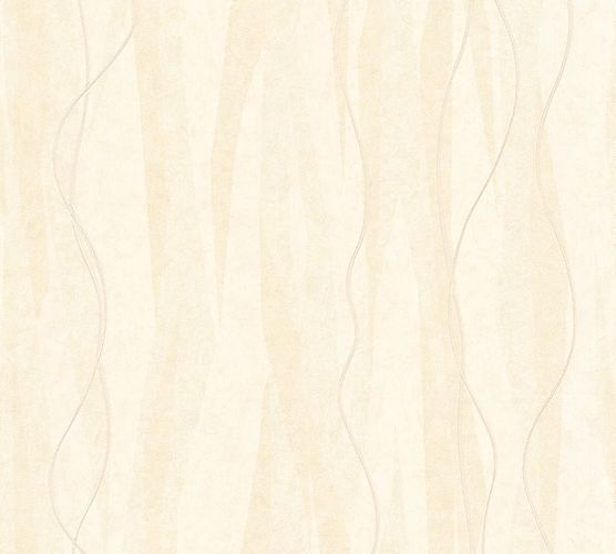 Wallpaper graphic lines cream AS Creation 32999-6 online kaufen