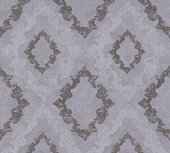 Wallpaper ornaments glitter grey AS Creation 32989-4 online kaufen