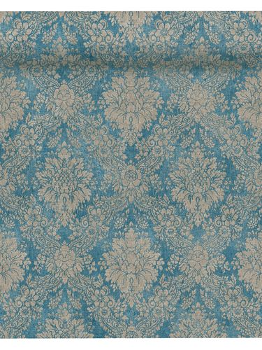 Tapete Vlies Barock Vintage blau AS Creation 33607-5