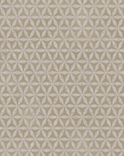 Tapete Grafisch Sterne Glanz beige silber Marburg 58101 online kaufen