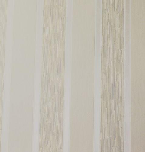 Vliestapete Blockstreifen Striche creme weiß Glanz 51716