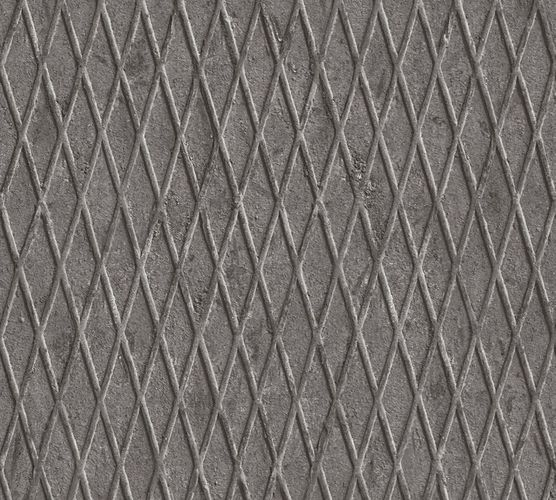Wallpaper metal pattern grey AS Creation 33548-1 online kaufen