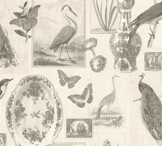 Wallpaper cottage birds cream AS Creation 33634-2 online kaufen