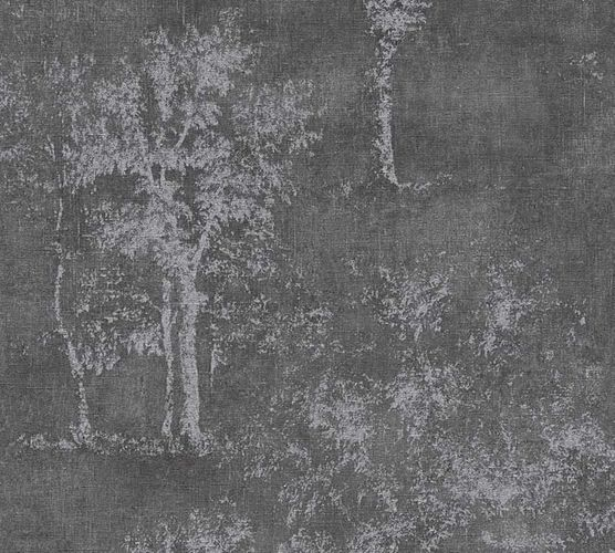 Wallpaper vintage tree anthracite AS Creation 33603-5 online kaufen