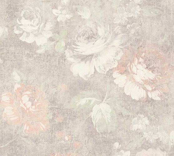 Wallpaper floral roses vintage brown AS Creation 33604-2 online kaufen