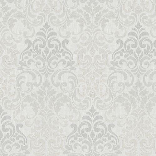 Tapete Vlies Barock hellgrau Metallic Marburg 58211 online kaufen