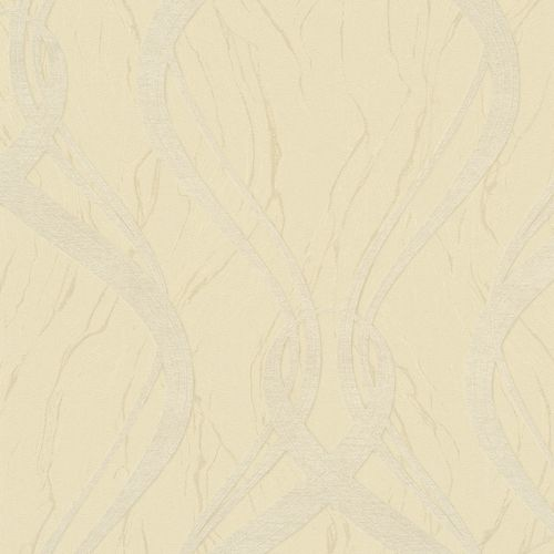 Wallpaper graphic wave yellow Marburg Opulence 58233 online kaufen