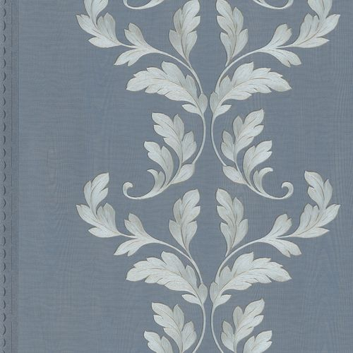 Wallpaper tendril wood blue Marburg Opulence 58255 online kaufen