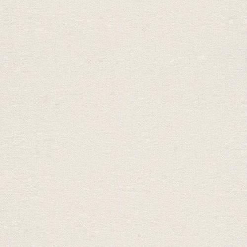 Wallpaper plain cream white Rasch Florentine 449808