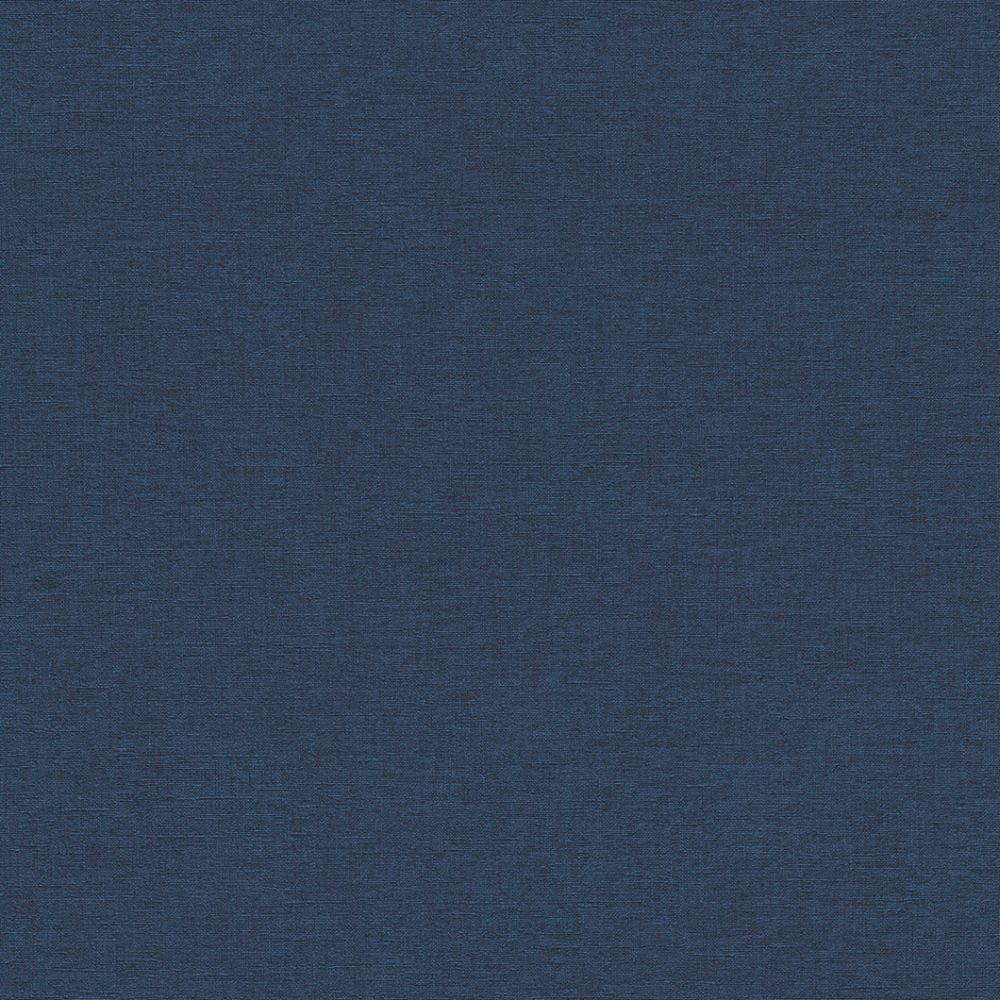 2,50€//1qm Tapete Vlies Uni Struktur dunkelblau 449860 Tapete Rasch Florentine