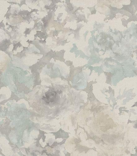 Tapete Vlies Vintage Blumen graubeige Rasch Florentine 455632 online kaufen