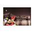 Wandbild Leinwand Keilrahmen Micky Minnie Maus New York 60x90cm 1