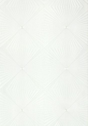 Glööckler Tapete Vlies Grafisch hellgrau silber Glanz 54842