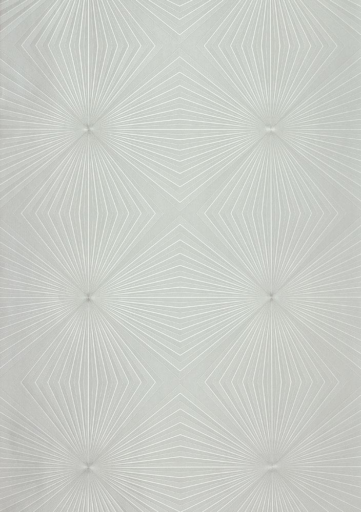 Gl Ckler Tapete Vlies Grafisch Grau Silber Glanz 54852