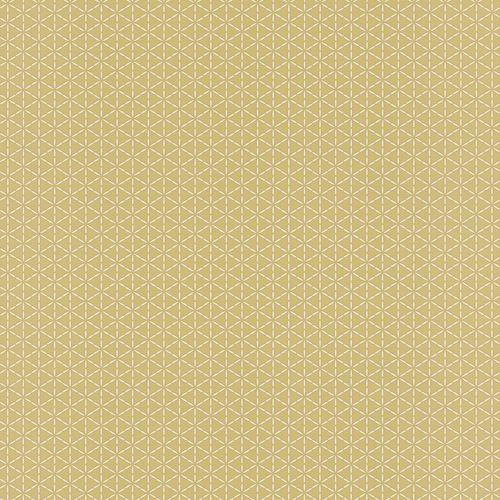 Wallpaper graphic ochre Rasch Deco Relief 518245