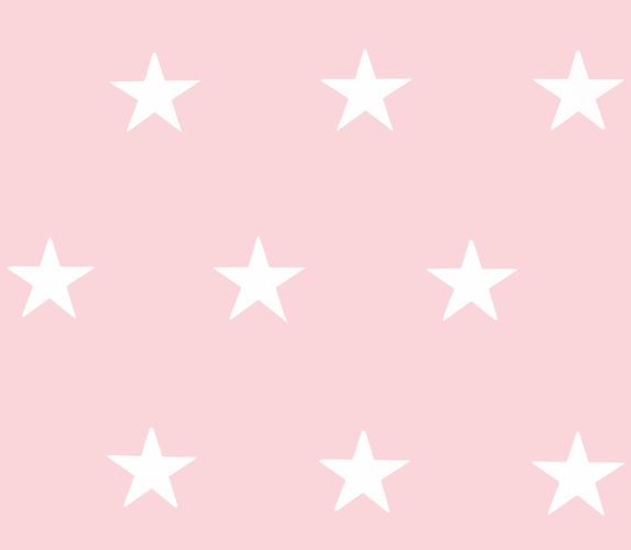 Tapete Vlies HOMEFACTO:RI Sterne rosa weiß Glanz 34760-3 online kaufen