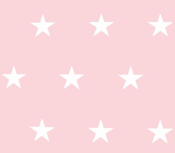 Wallpaper HOMEFACTO:RI Stars Shine rose white 34760-3 buy online