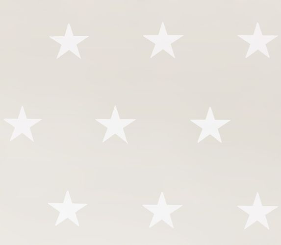 Wallpaper HOMEFACTO:RI Stars Shine beige grey white 34760-2 buy online