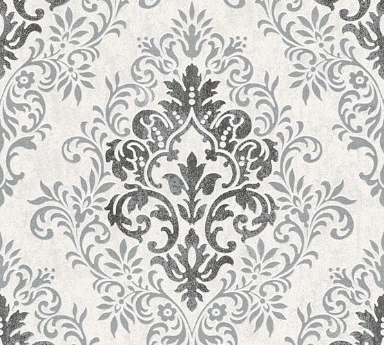 Jette Joop Wallpaper ornament anthracite grey metallic 33924-1 online kaufen