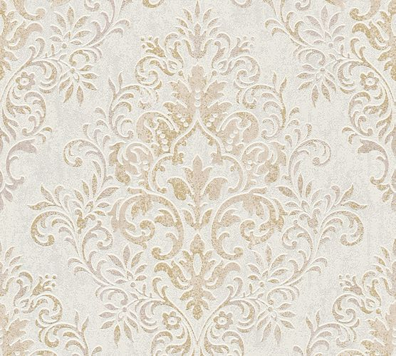 Jette Joop Wallpaper ornament beige white metallic 33924-4 online kaufen